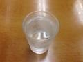 [銀座][東銀座][銀座一丁目][ラーメン]タンブラーだグラスだシャレた感じじゃなくついコップと呼びたくなる
