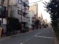 [根津][パン][菓子]根津の街は高い建物が多くないから空がでかい