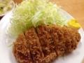 [上野][御徒町][とんかつ][和食][定食・食堂]とんかつが小さいんじゃなくキャベツの盛りがスゴイだけ
