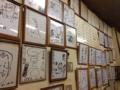 [浅草][田原町][ラーメン]この手の店定番、壁にはサインがびっしりと