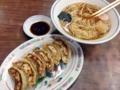 [豪徳寺][山下][ラーメン][餃子]ラーメンと餃子で600円、別に消費税もとられずきっかり600円