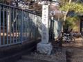 [豪徳寺][建築][寺院]門外のこれを井伊直弼の墓だと思ってしまった
