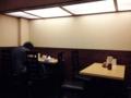 [千駄木][西日暮里][ラーメン][丼もの][菓子]テーブル席は4名掛けと2名掛け各1卓ずつの計6席