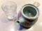 陶器のポットで水を飲むのって多分ラーメン屋さんでは初めてかも