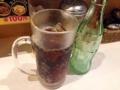 [虎ノ門][パスタ]コーラやウーロン茶も100円のまま楽しめます