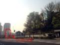 [三田][田町][ラーメン][ラーメン二郎]慶大正門前を右折し100mほど進んだ場所に構える三田本店に入学