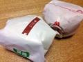 [ハンバーガー][野菜]バンズがレタスに代わるだけで230kcalにダウン