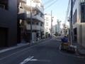 [神泉][渋谷][ラーメン]大通りとは打って変わった静かな表情に