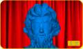 [ジュース][Webサービス]真顔なのにドヤ顔みたいな銅像のどアップ