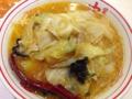 [ラーメン][丼もの]「蒙古タンメン中本」の味噌タンメン