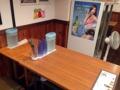 [有楽町][銀座][日比谷][内幸町][新橋][ラーメン][丼もの][韓国料理][漫画][孤独のグルメ]運良くゴローちゃん席が空いていたので着席してメニューを眺めます