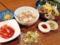 有楽町「まだん」の韓国冷麺+ミニチャーシュー丼セット