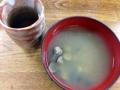 [代々木公園][代々木八幡][渋谷][居酒屋][寿司・魚介類][和食][定食・食堂][漫画][孤独のグルメ]落ち込む間もなくどかどかやってくる料理。お茶としじみ汁