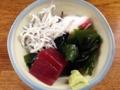 [代々木公園][代々木八幡][渋谷][居酒屋][寿司・魚介類][和食][定食・食堂][漫画][孤独のグルメ]鮮魚店ならではのキッチリうまい小鉢類