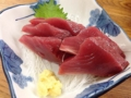 [代々木公園][代々木八幡][渋谷][居酒屋][寿司・魚介類][和食][定食・食堂][漫画][孤独のグルメ]明太子に負けない輝き!「魚力」おろしたてのカツオの刺身