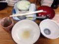 [代々木公園][代々木八幡][渋谷][居酒屋][寿司・魚介類][和食][定食・食堂][漫画][孤独のグルメ]ご覧のとおり完食です!(※汚いのでモザイク処理済み)