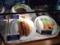 今回は「一皿豚ミンチかつ+ロールキャベツ一貫」セットを注文