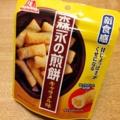 [菓子]森永製菓初の煎餅菓子?「森永の煎餅 キャラメル味」