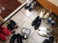 [鵠沼海岸][菓子][かき氷][甘味処][カフェ・喫茶店]そそくさと玄関で靴を脱ぎまして