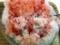 イチゴ、練乳、氷が渾然一体となった極上の逸品をそそくさバクバク