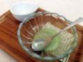[鵠沼海岸][菓子][かき氷][甘味処][カフェ・喫茶店]再び完食でございます!(※こっちはやや汚かったのでモザイク処理済