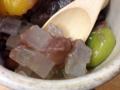 [向島][曳舟][押上][浅草][菓子][アイス][甘味処]何となく寒天につけて食べたら相乗効果を発揮しそうな気もしましたし