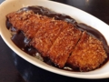 [鳥取][洋食][カレー][菓子][かき氷][カフェ・喫茶店]鳥取カレーの代表格とも言うべき「ベニ屋」のチキンカツカレー800円