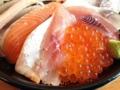 [鳥取][鳥取砂丘][和食][丼もの][寿司・魚介類][定食・食堂]豪華版にしか乗らないイクラも贅沢に配置