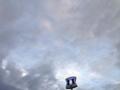 [倉吉][ラーメン][おでん]何だか不気味な1枚ともとれますが、空は大変広うございました