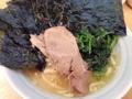 [天王町][ラーメン]天王町「光家」のラーメン麺固め海苔ライス900円