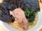 天王町「光家」のラーメン麺固め海苔ライス900円