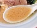 [天王町][ラーメン]醤油っぽさよりも塩っ気の方が際立つキラキラスープ