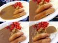 [外苑前][千駄ヶ谷][国立競技場][神宮球場][野球][カレー][定食・食堂][漫画][孤独のグルメ]神宮球場「麺や秀雄」のウインナーカレーライス700円