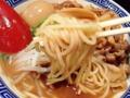 [高円寺][ラーメン]ウェービーな中細麺と力強いスープの綱引き、一足早めの独り大運動会