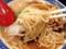 ウェービーな中細麺と力強いスープの綱引き、一足早めの独り大運動会