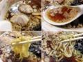 [東十条][ラーメン][チャーハン][居酒屋]レンゲでズズズ、続けて中細縮れ麺をズビビンズビビン