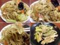 [谷中][日暮里][千駄木][ラーメン][餃子][チャーハン][中華]キャベツ、ニンジン、モヤシにキクラゲまで入るソース焼ソバ(800円)