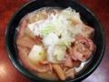[谷中][日暮里][千駄木][ラーメン][餃子][チャーハン][中華]レバーが苦手な方は豚もつ煮(450円)でホルモン摂取という手もあり