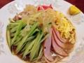 [谷中][日暮里][千駄木][ラーメン][餃子][チャーハン][中華]時期的にまもなく終了しちゃう冷やし中華も食欲をそそります