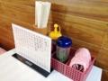 [秋田][横手][柳田][焼きそば]卓上調味料はシンプルにソースと青海苔