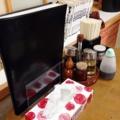 [秋田][横手][焼きそば][ラーメン][定食・食堂][居酒屋]テーブル単位で水ポット、ボックスティッシュと定番の卓上調味料