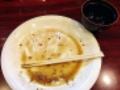 [秋田][横手][焼きそば][定食・食堂][居酒屋]ご覧のとおり完食です!(※汚いのでモザイク処理済み)