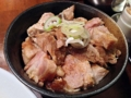 [銀座][東銀座][ラーメン][丼もの]溢れ出る肉々しさ、「自家製麺 伊藤 銀座店」のチャーシュー丼350円