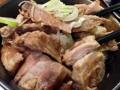 [銀座][東銀座][ラーメン][丼もの]卵の代わりに魚粉まぶしのチャーシューがたっぷり乗っちゃう