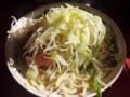 [ラーメン][つけ麺][油そば][まとめ]「ラーメン二郎 三田本店」小ぶたダブル野菜ニンニク