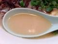 [東京][大手町][三越前][新日本橋][ラーメン][漫画][孤独のグルメ]ギトギトとは無縁、飲みやすいタイプのスープをズビビビ