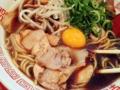 [麻布十番][ラーメン]麺⇔スープ、往復運動の箸休めにピッタリな豚チャーシュー