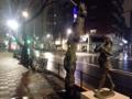 [日暮里][三河島][洋食][定食・食堂][漫画][孤独のグルメ]ピロピロ縦笛を吹きながらでも快適に登下校できそうな広々とした歩道