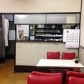 [日暮里][三河島][洋食][定食・食堂][漫画][孤独のグルメ]4名掛け中心のオールテーブル席、店内外のギャップが印象的