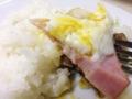 [日暮里][三河島][洋食][定食・食堂][漫画][孤独のグルメ]ハムとハンバーグの牛肉でハギュウな食感実現!って我ながら意味不明